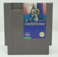 Deadly Towers (Nintendo NES)