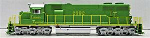 ATHEARN 98811 SD38-2 ILLINOIS TERMINAL #2302 (NON POWERED & NO BOX)  HO SCALE
