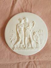 1 Lovers Harvest scene Grand Tour Cameo Intaglio Medallion Seal Plaster Tassie