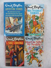 Lot of 4 Enid Blyton MR. TWIDDLE ADVENTURE STORIES FAMILY CHRISTMAS Red Fox Pbks
