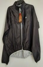Bontrager Packable Stormshell Black Cycling Jacket Size Large Nwt