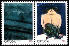TEMA EUROPA 1993 AZORES PINTURA ANTONIO DA COSTA 2v.