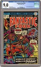 Fantastic Four #152 CGC 9.0 - Thundra (1974 Marvel Comics)