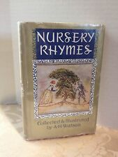 1962 NURSERY RHYMES Collected and Illustrated by A. H. Watson - HB w/DJ - Nice!!