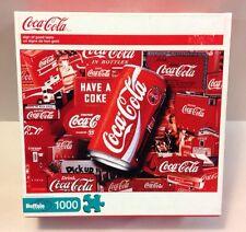 Coca-Cola Coke 1000 Piece Jigsaw Puzzle Can Soda SIGN OF GOOD TASTE Buffalo Game