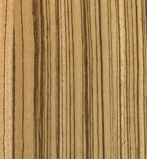 "Exotic Zebrawood Sequenced Matched Veneer Unbacked 3 sq. ft (5.5"" - 7.5"" x 12"")"