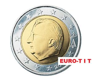 2 EURO    BELGIQUE       2001      PIECE    SUPERBE     BELGIQUE    2001    RARE
