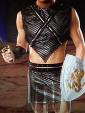 MENs Sexy GLADIATOR WARRIOR FIGHTER Fancy Dress Costume Outfit