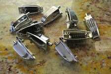 SET of (10) 60s/70s LUDWIG LARGE CLASSIC LUGS + BOLTS for TOM + BASS DRUM! #D471