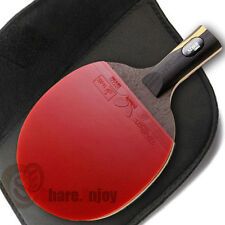 DOUBLE HAPPINESS HURRICANE WANG TABLE TENNIS RACKET PING PONG PADDLE SHORT HANDL