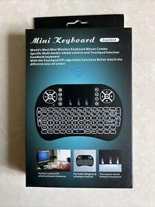 Mini Wireless Keyboard (backlit).