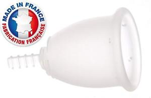 1 FLEURCUP coupe cup menstruelle GRANDE TAILLE silicone - 100 % Français PROMO