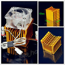New Aluminum Heatsink Fin Cooling For PC Northbridge Southbridge Chipset Cooling