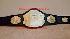UFC ULTIMATE FIGHTING CHAMPIONSHIP BELT 2MM PLATE ON 3MM LEATHER