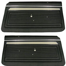 1969  NOVA SS  FRONT PREASSEMBLED DOOR PANELS 69