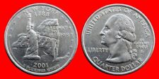 1 CUARTO DOLAR QUARTER DOLLAR 2001D NEW YORK USA.-27317