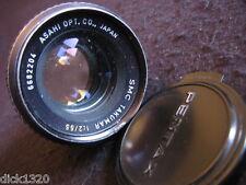 PENTAX ASAHI SMC TAKUMAR 1:2/55mm LENS #6682204 Fits any M42 mount EX