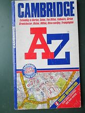 AZ Street plan and Index Cambridge  and surrounding area 1996