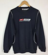 VINTAGE RETRO REEBOK 80s SWEATER SWEATSHIRT SPORTS JUMPER URBAN RENEWAL UK M