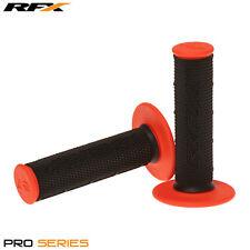 Rfx de doble densidad Grips soft-mid compuesto Negro Naranja Motocross Enduro