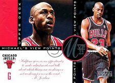 Michael Jordan 1997 Upper Deck Viewpoints MVP23 Oversize Basketball Card VP6
