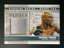 Antonio Tarver Fight Worn Material Swatch Boxing Card Ringside Round 2 Hh-11