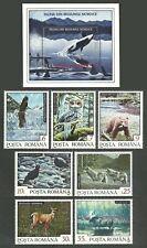 ROMANIA 1997 BIRDS OWLS KIWI WHALES WILDLIFE BEARS VARIOUS SETS & M/SHEETS MNH