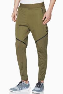 Nike Sportswear Men's Olive Green Dri Fit Training Pants Large 927360-395