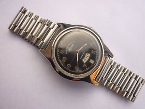 West End Watch Co Sowar Automatic S 4289-4363 Swiss Vintage Day-Date Watch