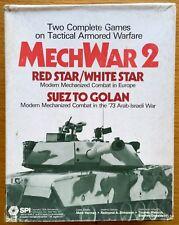 MechWar 2 - Red Star/White Star - Suez To Golan - SPI 1979 - Ottimo - UNPUNCHED