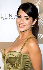 JACKIE GUERRIDO busty Univision weather girl sexy gown color 7x10 candid #2
