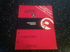 John Deere 4600 Series Integral Two Way Moldboard Plows Operators Manual