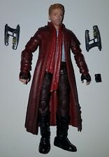 "Marvel Legends Guardians of the Galaxy STAR-LORD w/ SCARF Loose 6"" Figure Hasbro"