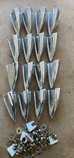 More details for 16x vintage bass drum lugs /nut boxes #646
