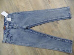 SEVEN FOR ALL MANKIND Jeans + Shirt + kariertes Hemd m. Kapuze Gr. 4 J / 104 NEU