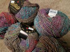 50% off! Lot 500g Noro Shinryoku Beautiful Wool & Silk Luxury Yarn Colorway #8