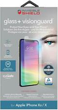 Zagg InvisibleShield Glass+ VisionGuard Screen Protector for iPhone X XS 11 Pro