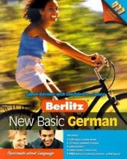 """Learn To Speak """"New Basic German"""" by Berlitz on Audio Cassette Tapes *Distressed"""