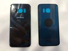 REAR COVER Samsung Galaxy S7 G930 NERO CON BIADESIVO VETRO +SCRITTE