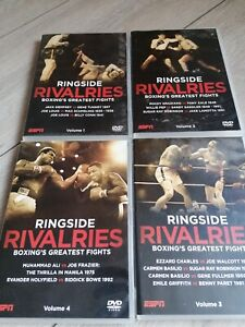Boxing Ringside Rivalries. Greatest Fights 4 DVDs