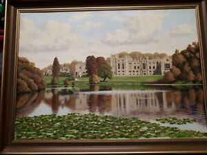 Large  Newstead Abbey  Painting