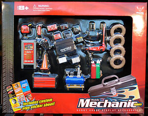 Phoenix Toys Hobby Gear 1:24 Scale Mobile Mechanic Diorama Set for Diecast Model