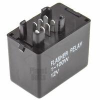 7 Pin LED Flasher Relay For Suzuki GSXR SV DL Light Turn Signal Flash Controller