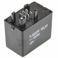 7 Pin LED Flasher Relay For Suzuki GSXR SV DL Light Turn Signal Flash Controller