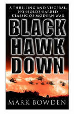 Black Hawk Down - Mark Bowden - Corgi 1999 Paperback with Location Combat Photos