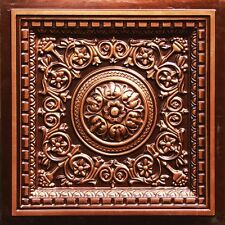 # VC 02 (Lot of 50) - Antique Copper PVC Decorative Ceiling Tile Drop-In