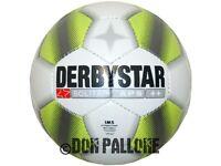 Derbystar Solitär APS Fußball Wettspielball Gr.5 Matchball IMS Approved Ball