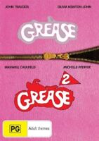 GREASE 1 & 2 : PINK LADIES COLLECTION : NEW DVD