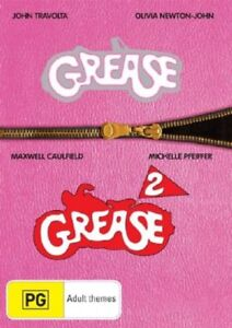 Grease  / Grease 02 (DVD, 2006, 2-Disc Set)*R4**Like New*