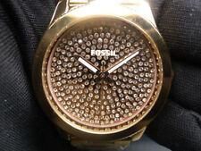 New Old Stock - FOSSIL PERFECT BOYFRIEND ES3690 - Rose Gold Quartz Lady Watch